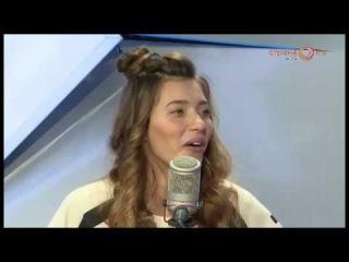 Регина Тодоренко в студии Страна FM