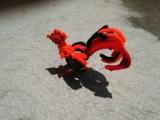 Como hacer un gallo con limpiapipas
