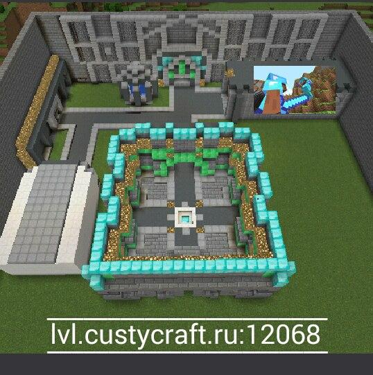 lvl.custycraft.ru:12068 Сервер CustyTest!