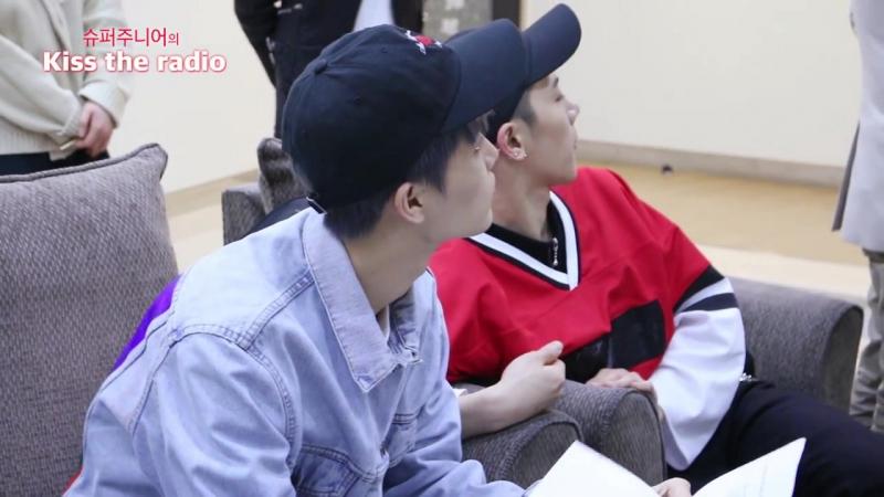 슈키라를 찾은 NCT U의 비하인드 영상! - 160415[슈퍼주니어의 키스 더 라디오]