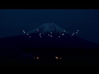 Sky Magic Live at Mt.Fuji _ Drone Ballet Show