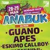 ANABUK-2016: GUANO APES. MANU CHAO. BILLY TALENT