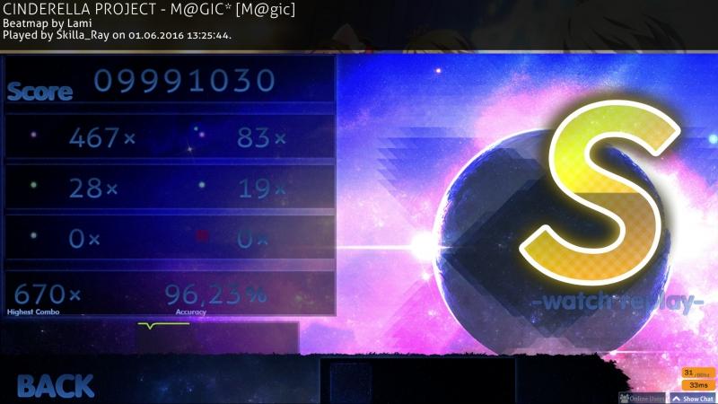 CINDERELLA PROJECT - M@GIC* [M@gic] (96.23%) 5.56