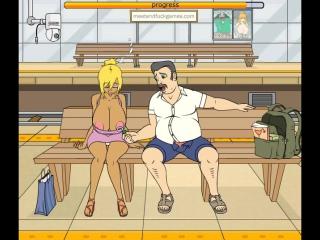 Эротическая флеш игра от m'n'f train-fellow-3 только для взрослых 18+ запрещено для детей!!!!