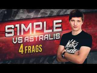 WATCH FIRST: s1mple vs Astralis @ ESL Pro League S4 - Europe