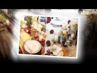 Как украсить и накрыть новогодний стол