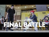 Band of Brothers vs Checkered Minds Finals Freestyle Session SEA 2016 RPProductions