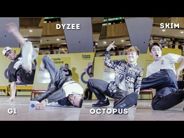G1 x Dyzee x Octopus x Skim | Judges Showcase | R16 Singapore 2016 | RPProductions