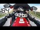 Street Ride On CBR 1000RR Top Speed Wheelie 184 Km h