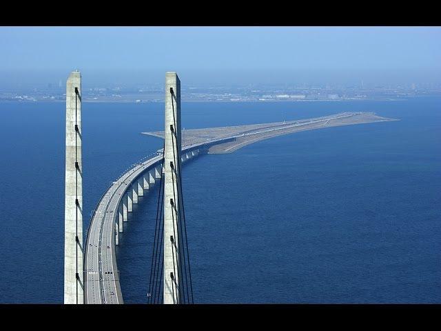 Mega Construções - Ponte mergulha no oceano para conectar Dinamarca e Suécia - National Geographic