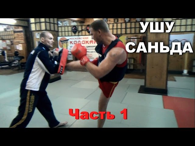 Ушу Саньда с Михаилом Быковским. Как правильно бить и бросать? Часть 1