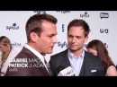 Gabriel Macht: There's sort of a Darvey thing going...