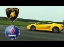 Lamborghini Gallardo E-gear VS. Saab 9-3 Aero