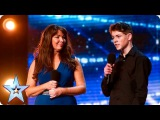 Mel and Jamie bring their special bond to BGT Auditions Week 7 Britains Got Talent 2016