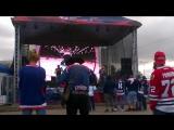 ЧМ по хоккею 2016 в Питере, Белоруссия-Словакия 4-2,фанзона