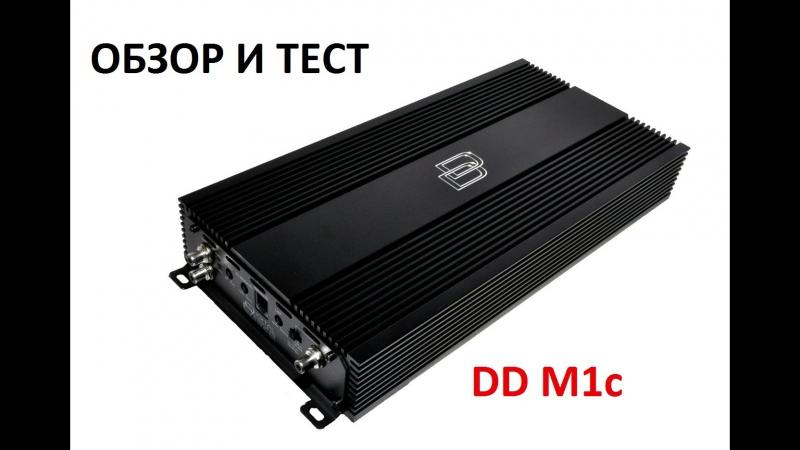 обзор и тест усилителя DD M1c