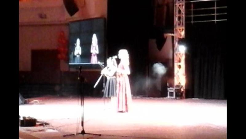 Вивальди Зима фрагмент исп.Лиза Кемоклидзе, стихотворение Мадонна исп.Маргарита Зеленская