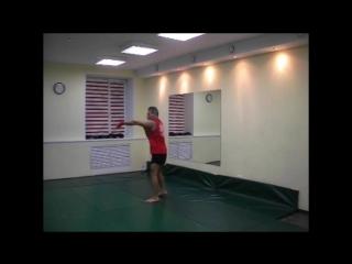 Ушу-Саньда  техника одиночных ударов в Цзуй Цюань