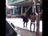 [RUS SUB][BANGTAN BOMB] Snowball fight (Jimins cam)