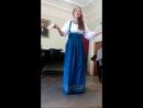 Козлова Анастасия,русская народная песня деревенька моя и частушки завлекалочка