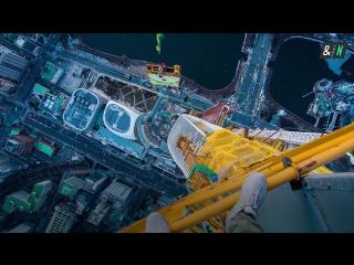 Руферы из России покорили самое высокое здание Южной Кореи