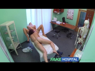 Intense sexual encounter between bisexual patient and blonde / FakeHospital / Fake Hospital / Фальшивый госпиталь