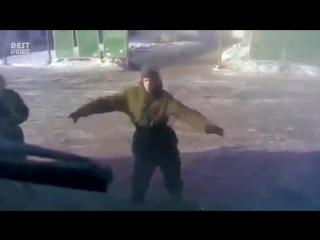 Танцы в армии