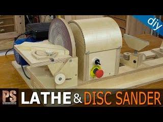 Homemade Lathe & Disc Sander Part3