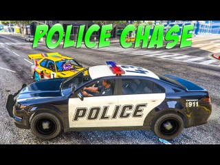 Car Cartoons for kids Police Cars & Racing Car Police Chase Videos for Children