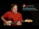 Minor Key Blues Guitar Lesson - Learn Both Rhythm and Lead - EP184