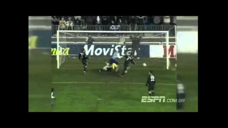 Малага 2-3 Реал Мадрид. Чемпионат Испании 2002-2003. 15 тур