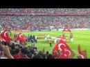 Türkiye Hollanda 3 0 Mac baslamadan önce Mehter Marsi Kadro okunurken Türkei Holland HD