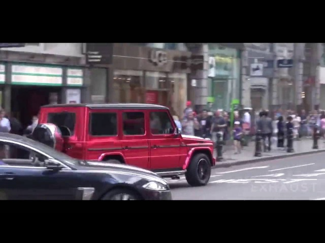 Mercedes BRABUS G63 AMG АХУ***Й ВЫХЛОП