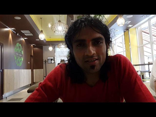 ВІДГУК індійського йога РАВІНДЕРА ДЖАНГРИ про наше йога кафе SHANTI )