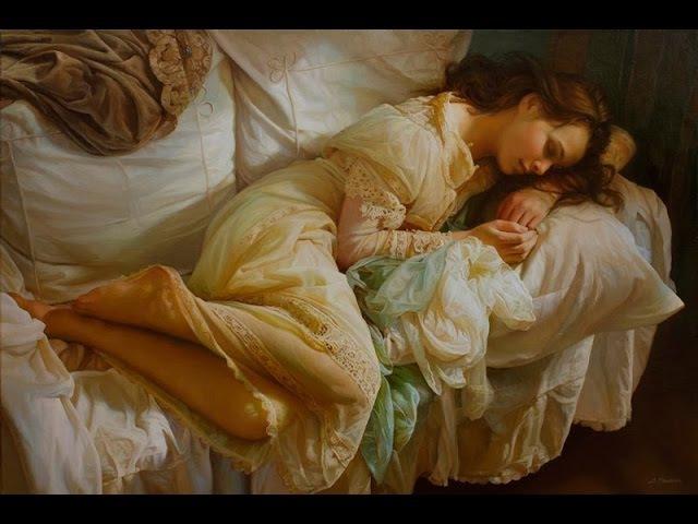 SERGE MARSHENNIKOV paintings ✽ SECRET GARDEN - Illumination