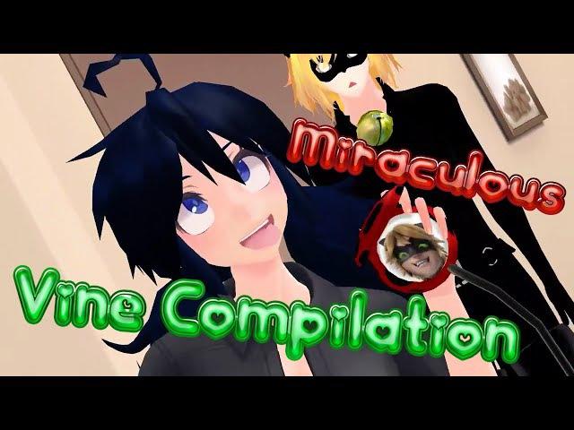 【MMDVINE】 Miraculous Ladybug (3D/2D) 【Vine Compilation】 DL