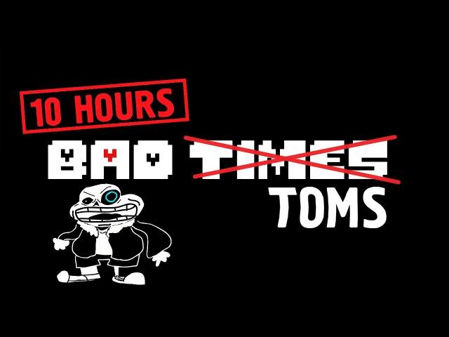 10 HOURS OF BAD TOMS (Mogolovonio) | Megalovania - Cover by Sr Pelo