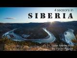 Timelapse film 4 seasons in Siberia