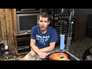 Gibson Les Paul Fret Leveling and Recrown (part 1 of 11)