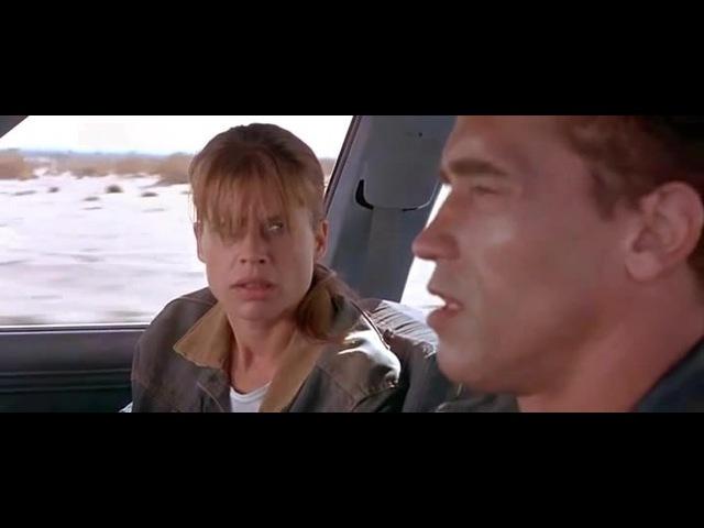 Terminator tells Maria Ivanovna Putina about the Future