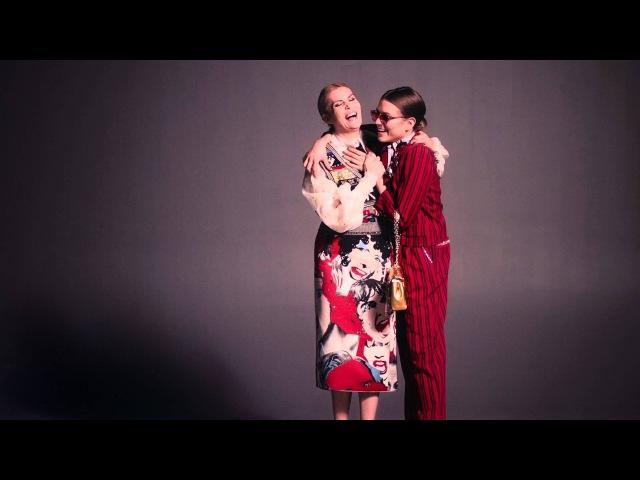 Marc Jacobs Spring 2016 Emmanuelle Seigner