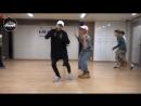 [VK] mirrored [Dance Practice] BTS -  Baepsae (Silver Spoon, Crow Tit)