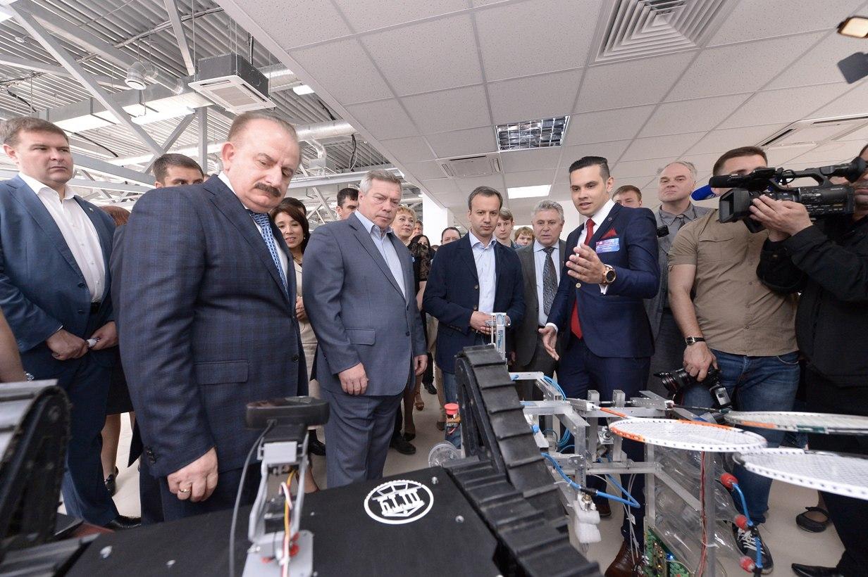 На Дону открыт первый Промышленный коворкинг