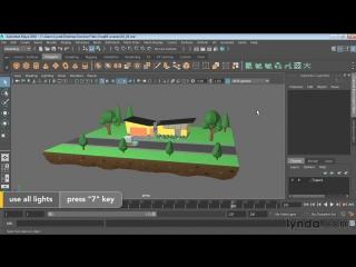 Основы работы в Maya 2016 | 02_03 Настройки вьюпорта