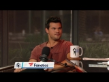 Actor of Taylor Lautner FOXs Scream Queens Joins RE Show - 91919