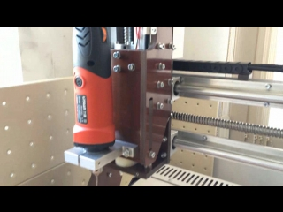 обзор самодельного фрезерного санка с чпу 40х60х10