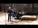 Ф. Шуберт Дуэт для скрипки и фортепиано ля мажор Дмитрий Ситковецкий (скрипка)  Лукас Генюшас (фортепиано)