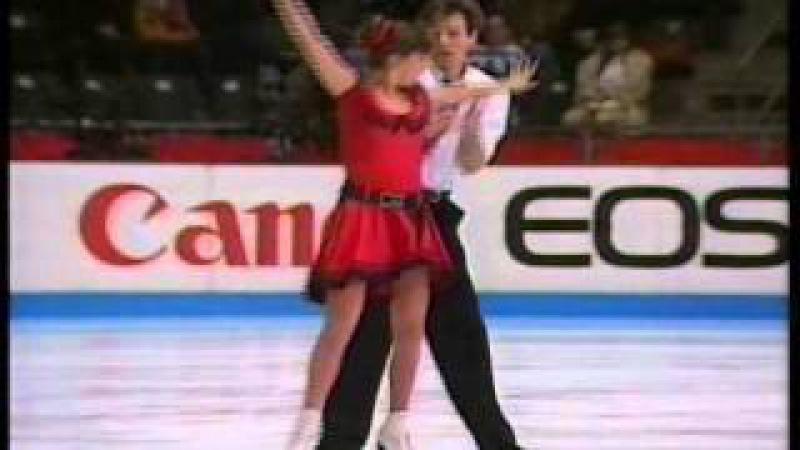 Grishuk Platov RUS 1994 Europeans Ice Dancing Free Dance