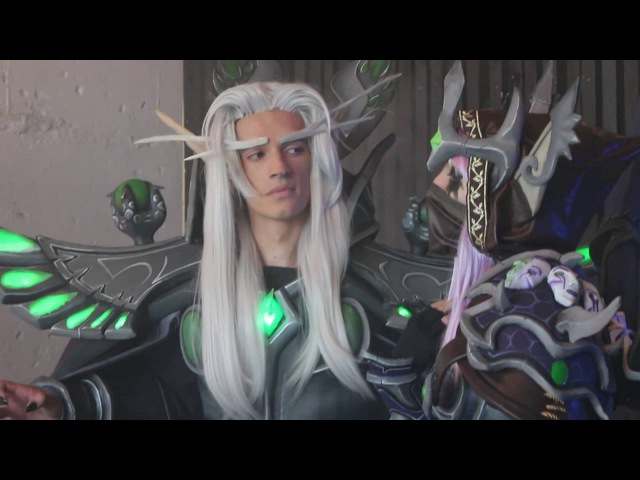 Heroes of the Storm [Cosplay, Photoshoot, Backstage] Master Kael'thas Master Sylvanas
