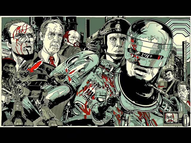 Robocop (1987) - Basil Poledouris - Theme. Soundtrack.OST. (Edited Version).
